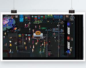 【疯狂派对】2020最新版+2D即时战斗网络游戏+角色扮演+模拟经营+培育养成+服务端+客户端