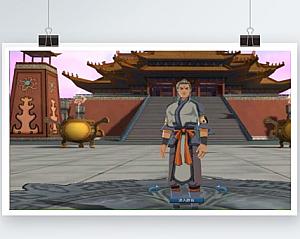 【蜀山神话】修真小说为背景的3D水墨风格单机网游+一键安装+GM工具+视频教程